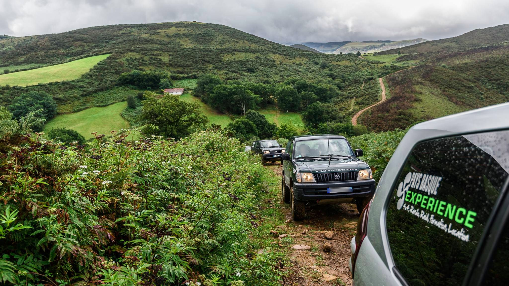 Excursion au Pays Basque en 4×4