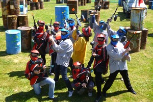 Paint ball pays basque